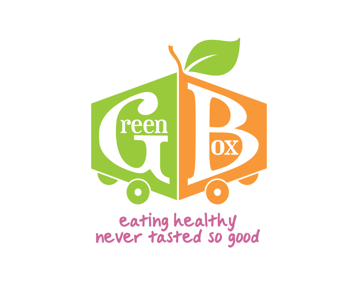 Modern Colorful Delivery Logo Design For The Green Box Healthy Food Co By Tinylavafish Design 3898880