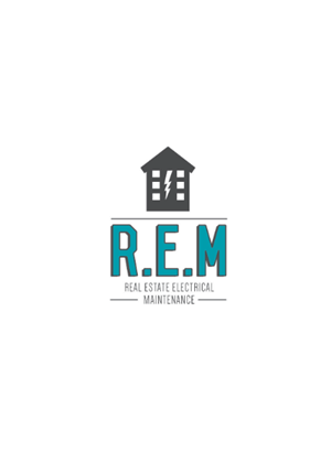 Logo Design 3920950 Submitted To REALESTATE ELECTRICAL MAINTENANCE Needs A