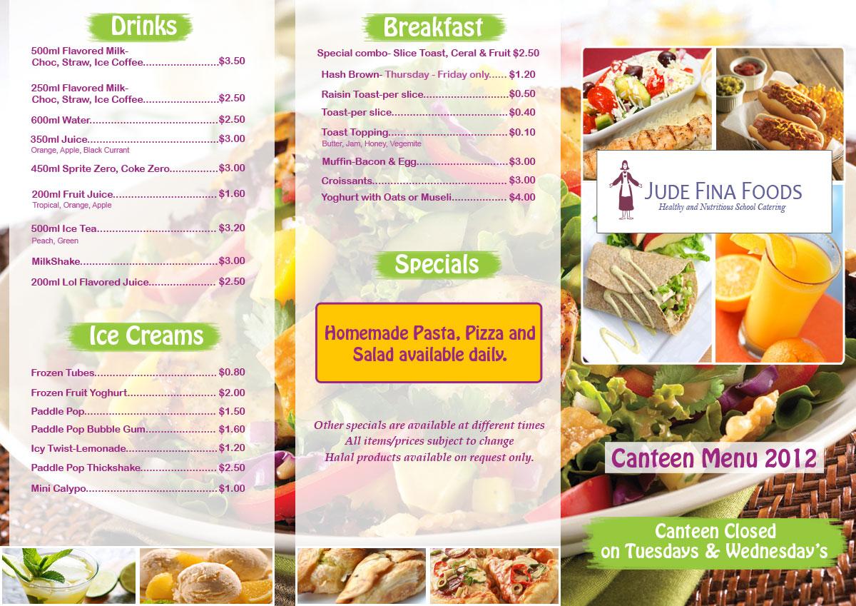Elegant playful menu design for leo cullia by parul for Australian cuisine menu