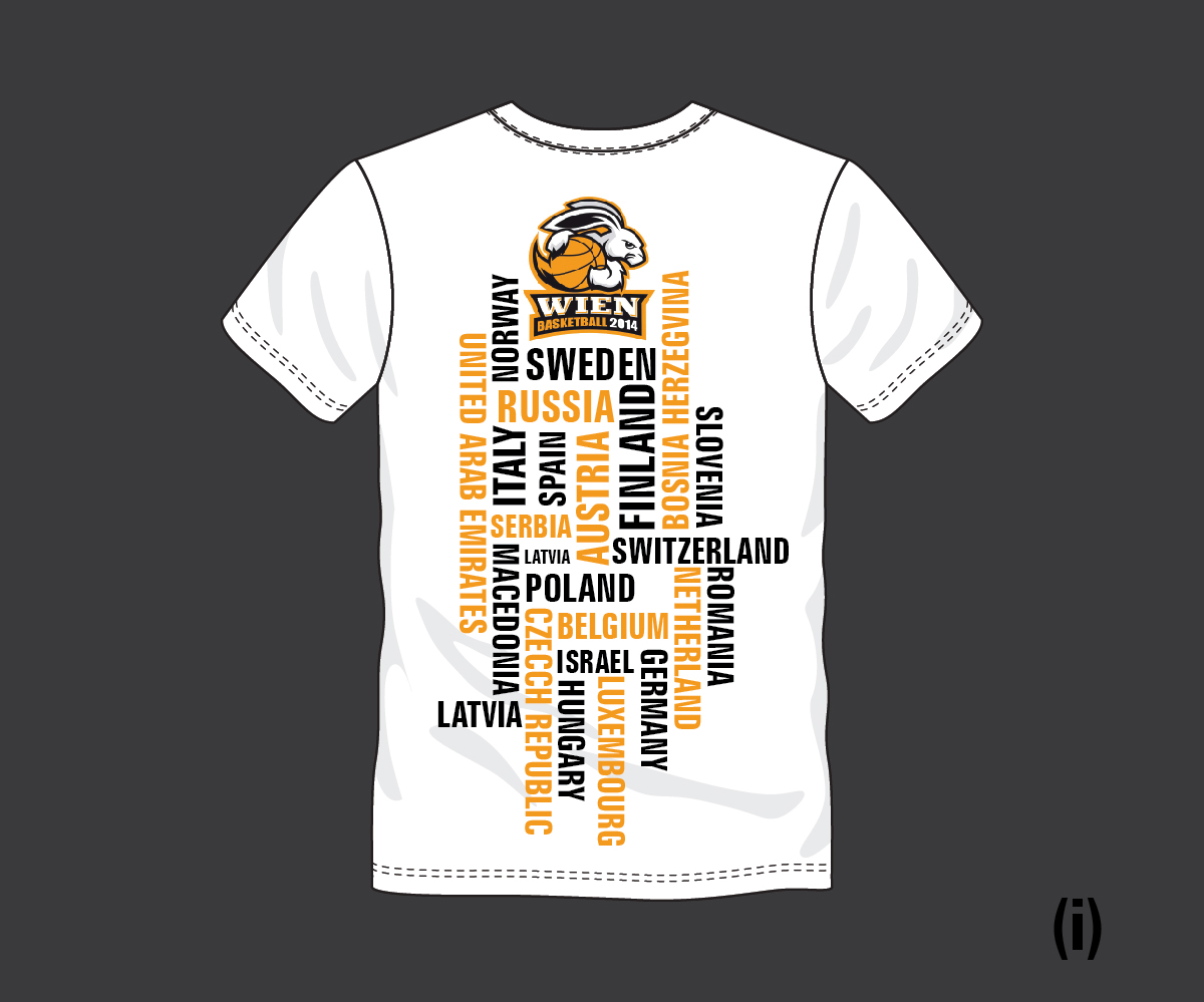 clothing tshirt design by esolbiz - Basketball T Shirt Design Ideas