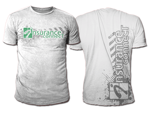 T Shirt Design For InsuranceCONNECT By Black Planet