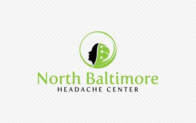 Feminine, Modern Logo Design for North Baltimore Headache