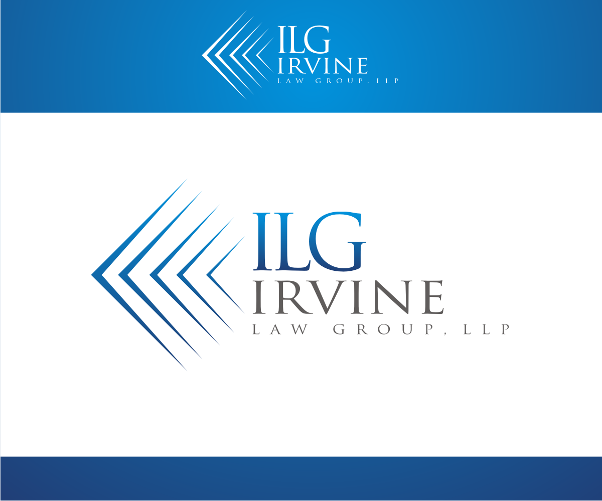 Law firm logo design for irvine law group llp by r i d for D for design