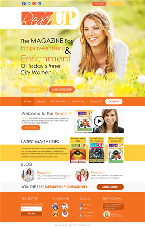 Wordpress Design by Bahriatech - Non-Profit Organization Needs WordPress website...