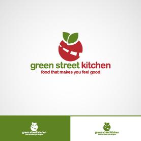 Logo Design For Green Street Kitchen By Fanolj Ademi Design 3908943