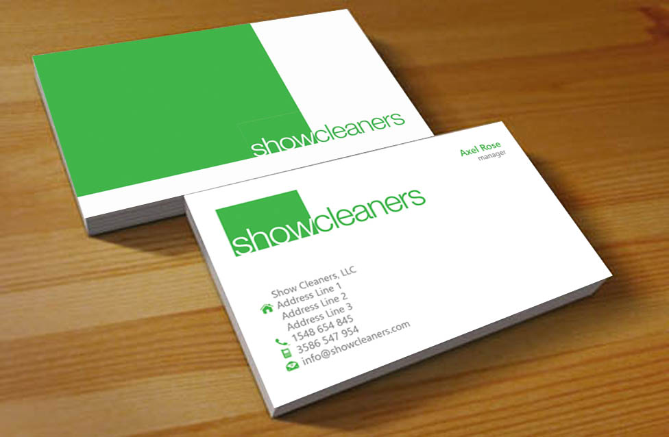 36 Business Card Designs | Waste Management Business Card Design ...
