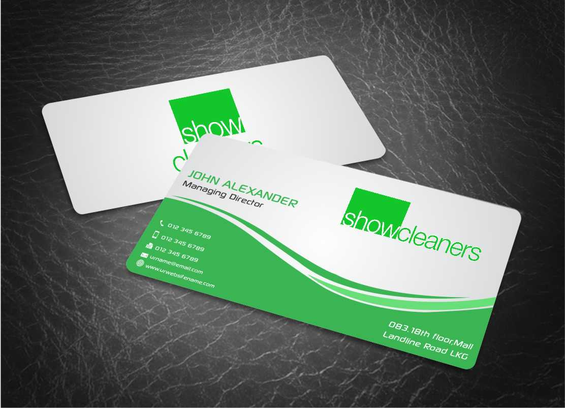 Waste Management Business Card Design for a Company by Web Special ...