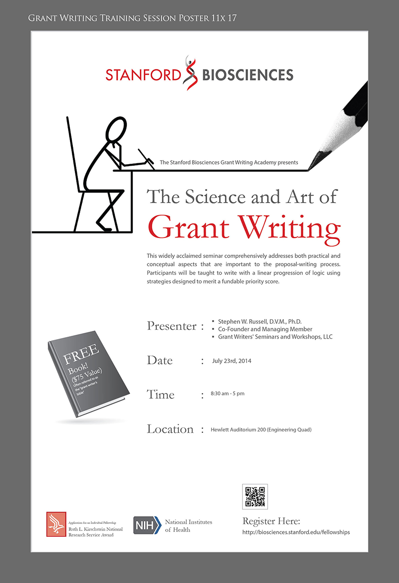 grant writing classes Niddk offers grant writing workshops to all niddk postdoctoral fellows with an advanced graduate degree (md, phd, or equivalent.