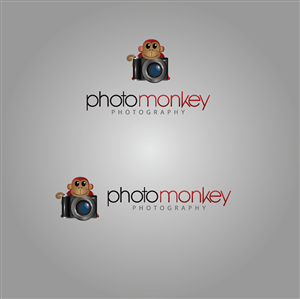 Logo Design job – PhotoMonkey photography business needs a new, fun but classy logo – Winning design by Gaurav_Thakur