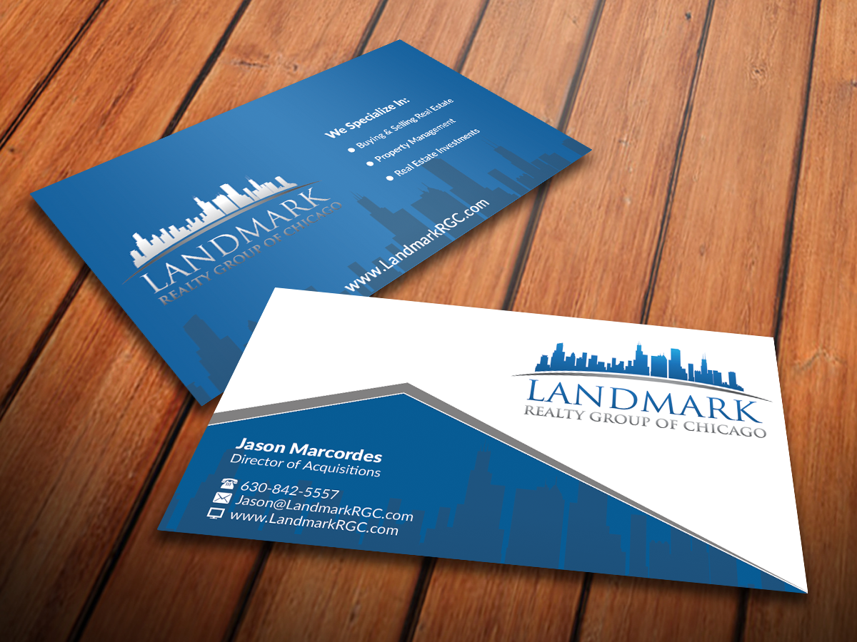 Business card design for jason by nuhanenterprise design 4089310 business card design by nuhanenterprise for real estate company needs a card that makes you say magicingreecefo Images