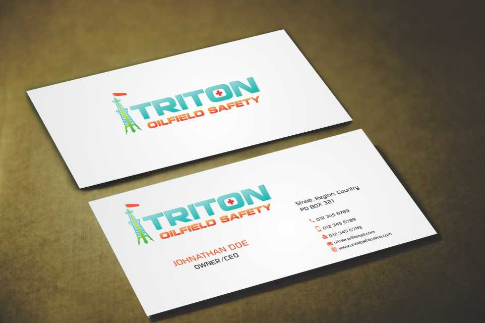 Masculine, Colorful, Business Business Card Design for a Company by ...