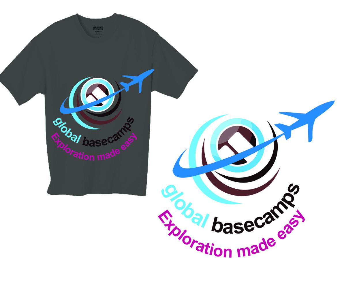 Traditional professional travel t shirt design for for Travel t shirt design ideas