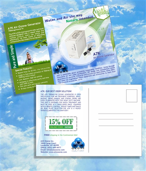 Postcard Design by WEBSEOBUY - Water and Air the Way Nature Intended.