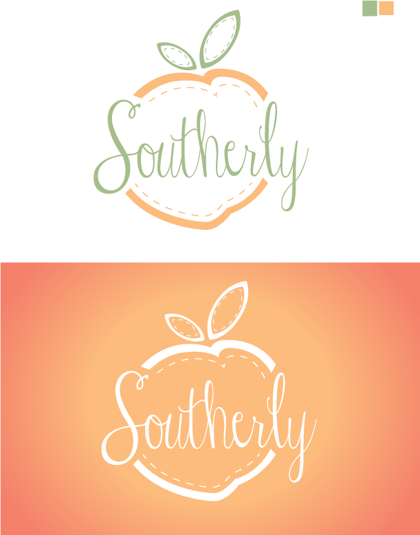 Traditional Elegant Clothing Logo Design For Southerly