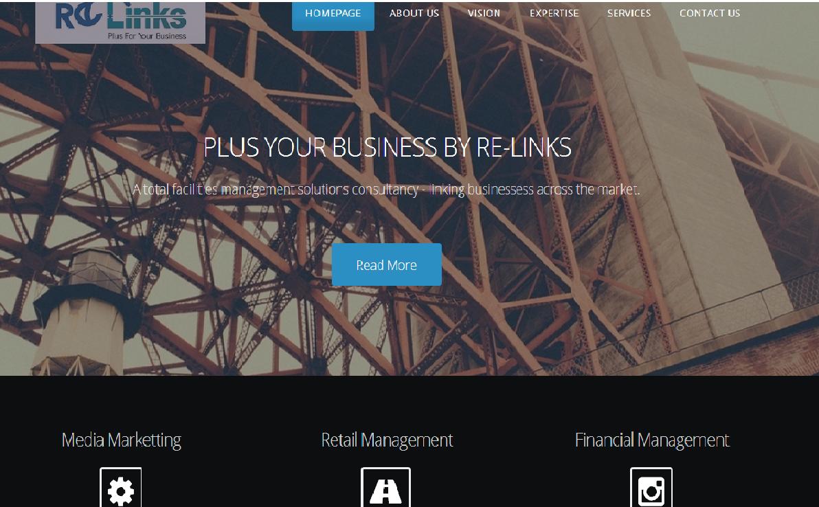 Upmarket, Modern, Small Business Web Design for terminal gauging