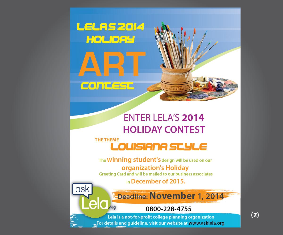 Graphic design flyer design for lela by esolbiz design for T shirt design contest flyer