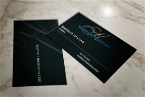 Investment Business Card Design Galleries for Inspiration