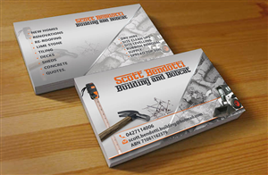 Contractor Business Card Design Galleries For Inspiration