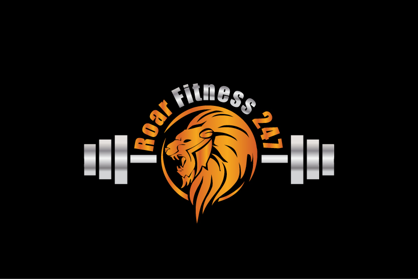 Logo Design By ColorflixTM For RoarFitness247