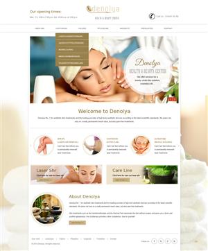 Beauty Salon Web Design Galleries for Inspiration