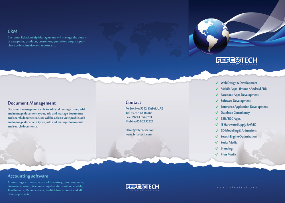 Professional Bold Flyer Design Job Flyer Brief For A Company In United Arab Emirates