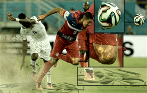 Photoshop Design by iMAGICations - 2014 FIFA World Cup Contest 3: Photoshop Clint ...
