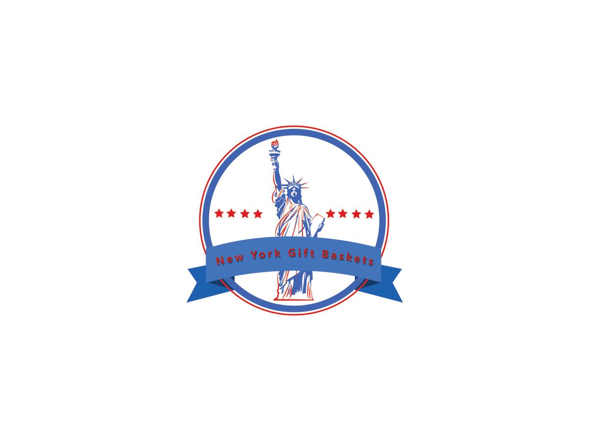 upmarket elegant logo design for new york gift baskets by