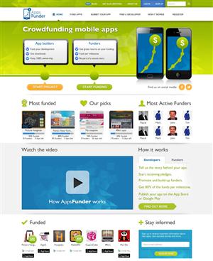 Crowdfunding Website Design | 1000's of Crowdfunding Website Design