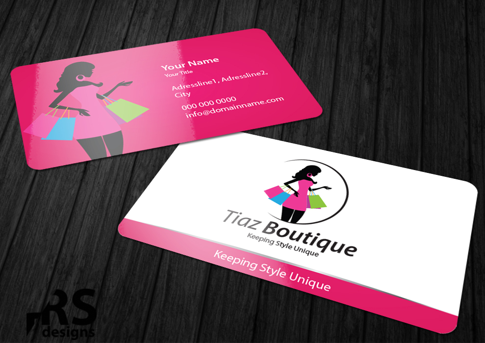 Card Design by RS designs for Online Fashion Boutique needs new Logo ...