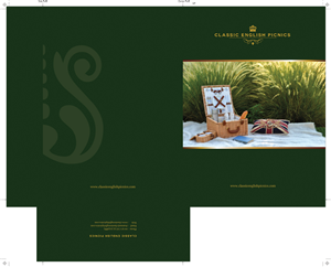 Brochure Design by Budzee - Classic English Picnic company needs a brochure ...