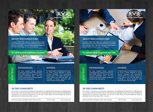 Flyer Design by Deip designs - RVR Consulting General Flyer