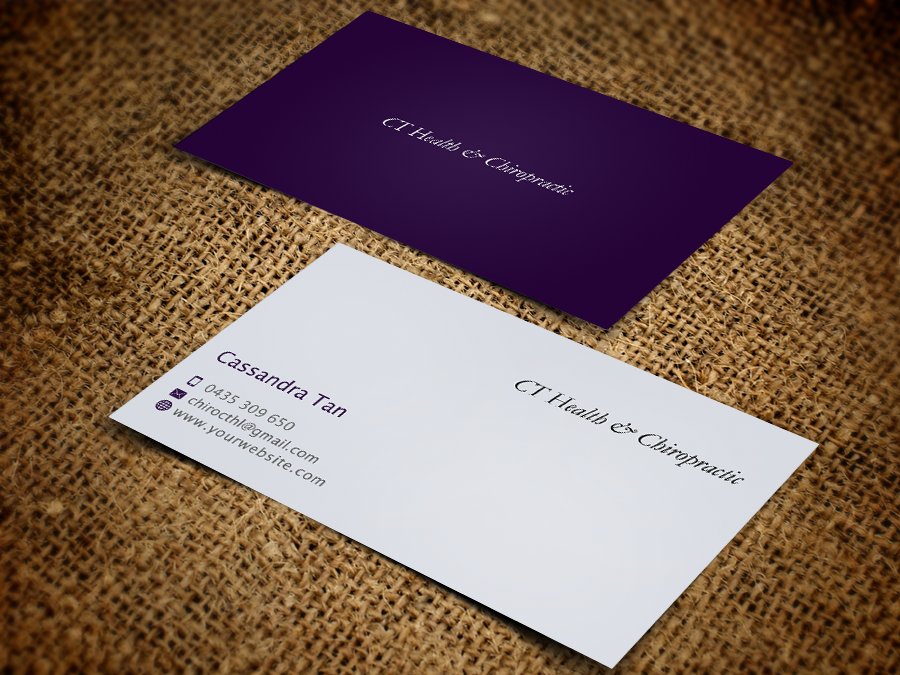 Modern, Colorful, Business Name Card Design for a Company by ...