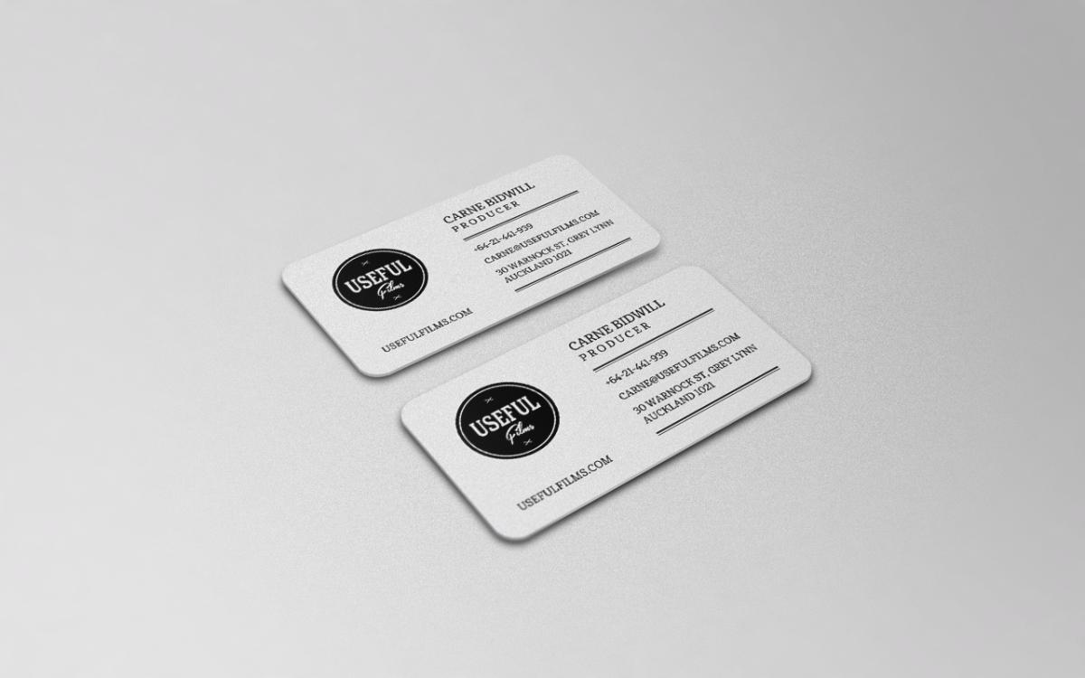 Conservative elegant baby business card design for useful films by business card design by hypdesign for useful films design 3983006 colourmoves