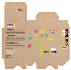 Packaging Design by marton - Eco-friendly printer cartridges and toners pack...