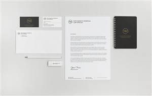 Stationery Design by HYPdesign - Criminal Defense Law Firm needs Stationary desi...