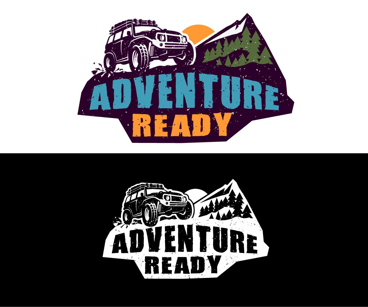 4x4 Mountain Adventure logo by GliderGraphx