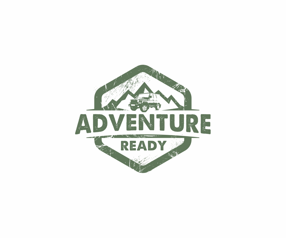 bold personable community logo design for adventure