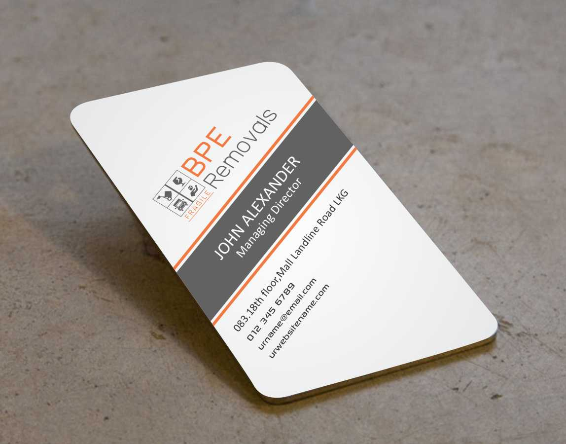 Furniture Store Business Card Designs