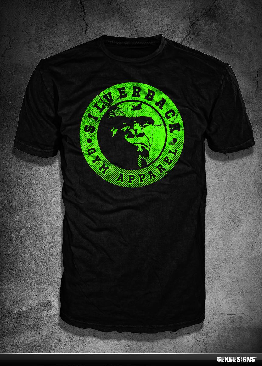 Shirt design green - Bold Serious Advertising Tshirt Design By Gek