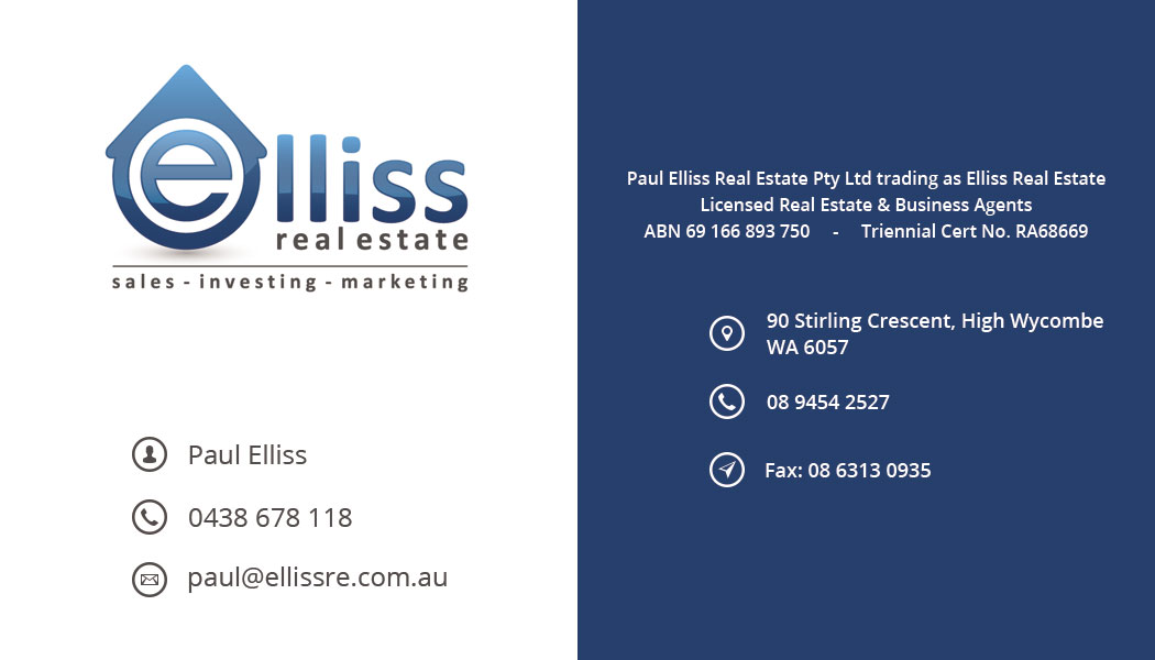 Bold masculine printing business card design for elliss real bold masculine printing business card design for elliss real estate in australia design 3990802 reheart Choice Image