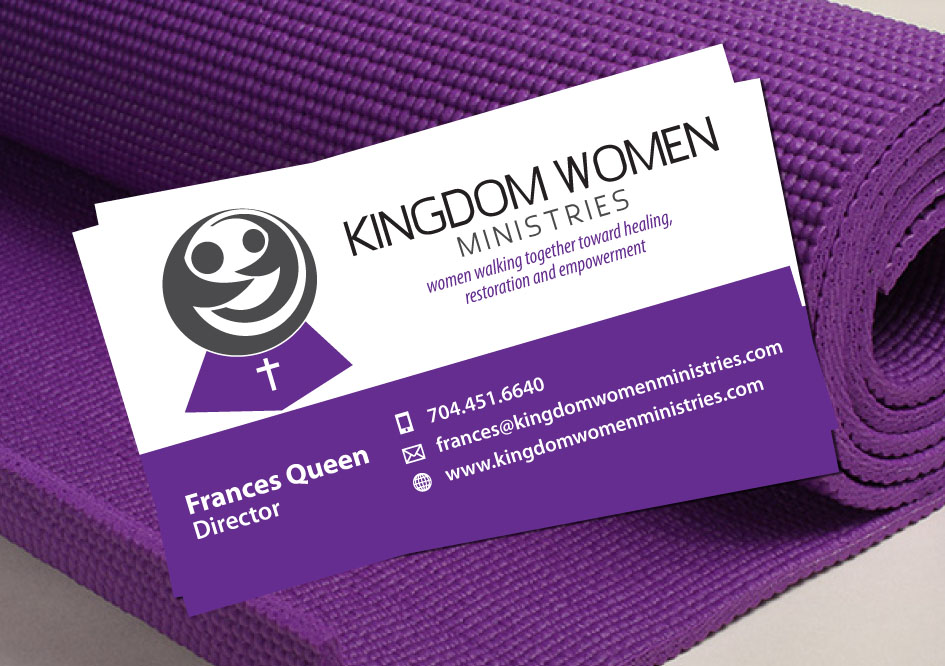 Business Business Card Design for Kingdom Women Ministries by Elkana ...