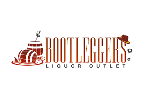 Logo Design by Jace Design - Bootleggers Liquor Store