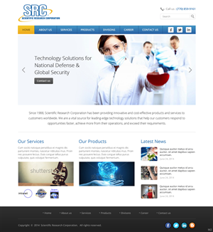 Web Design by pb - SRC IT Solutions Provider