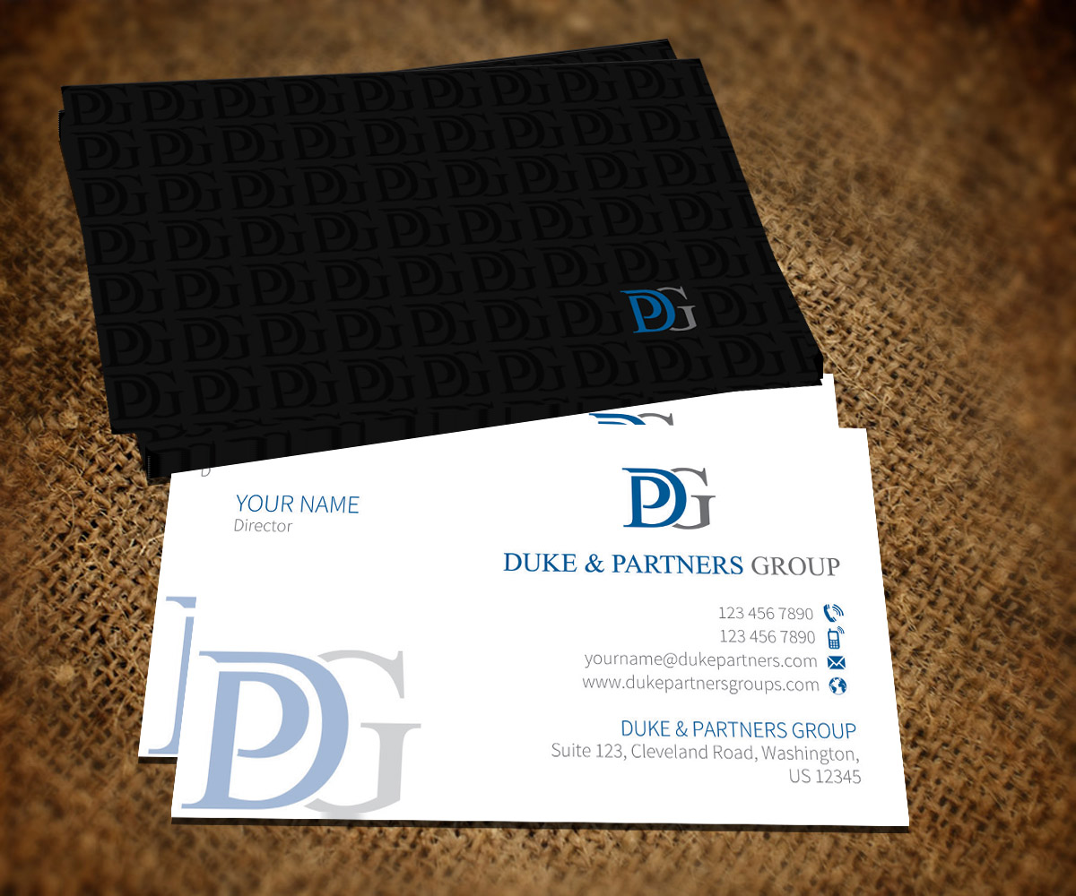 14 Conservative Business Card Designs | Business Business Card ...