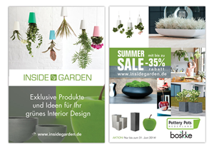 Flyer Design by kattis - INSIDEGARDEN needs a flyer design!