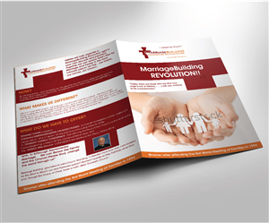 Brochure Design by ErrAr - attractive brochure layout for MarriageBuilding ...