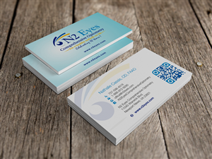 Education business card design galleries for inspiration growing optometric practice needs an attractive business card business card design by hypdesign colourmoves