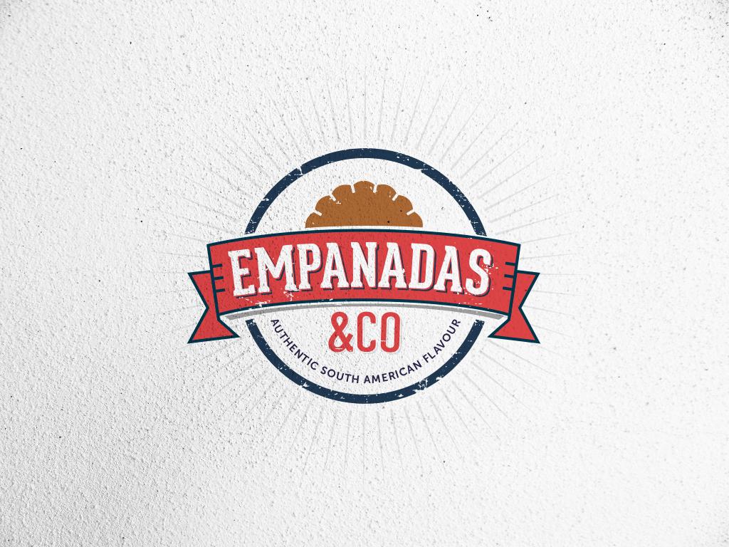 Chef logo design for empanadas co authentic south for Design company