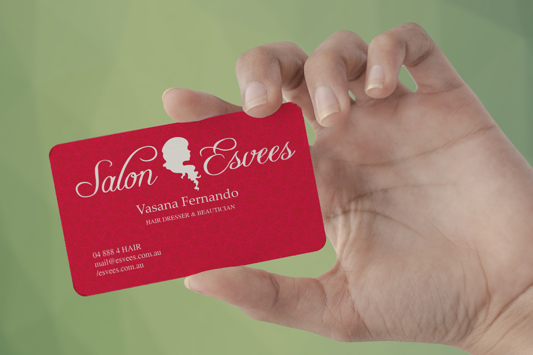 Serious, Modern, Hair Business Card Design for Creative Designs by ...