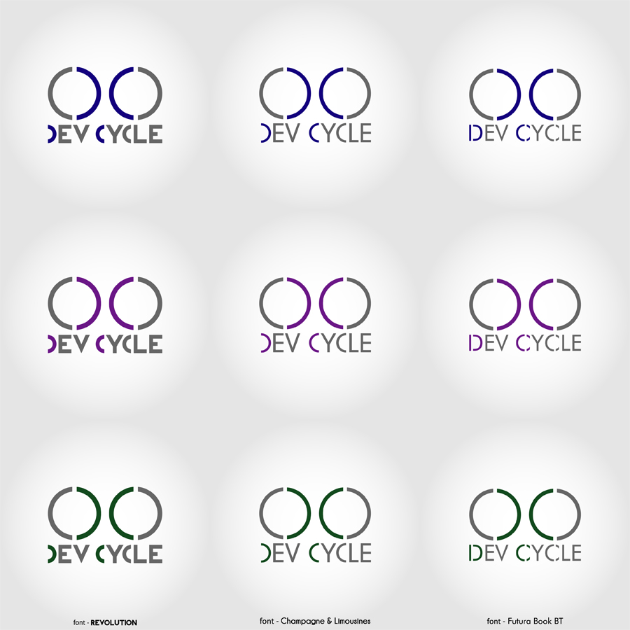 Modern, Professional, It Company Logo Design for Dev Cycle